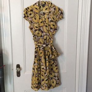 Rare ✨🍌 Banana print dress by Moda International